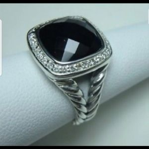 DAVID YURMAN BLACK ONYX ALBION RING
